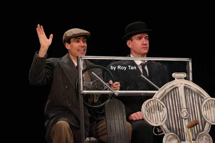 Jeeves and Wooster at the Duke of York's Theatre