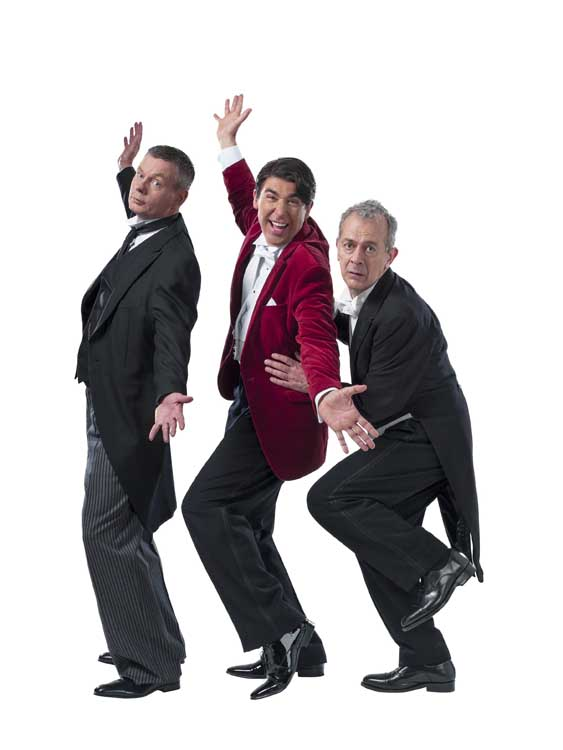 Jeeves and Wooster at the Duke of York's Theatre - New Cast July 2014