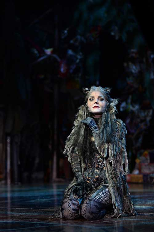 Kerry Ellis in Cats at the London Palladium.