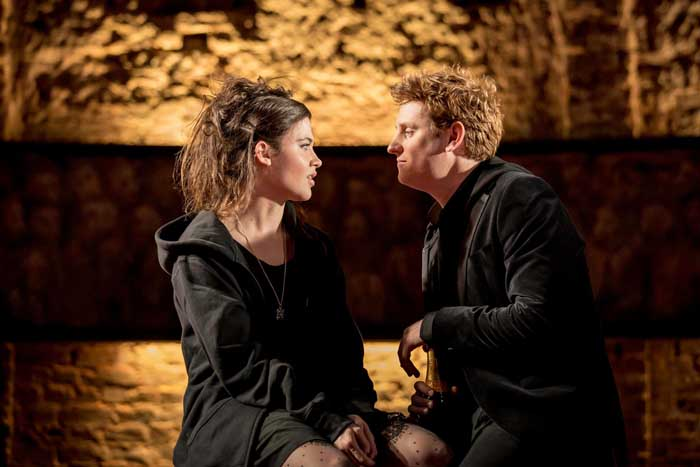 King Charles III (Photo from the Almeida production by Johan Persson)