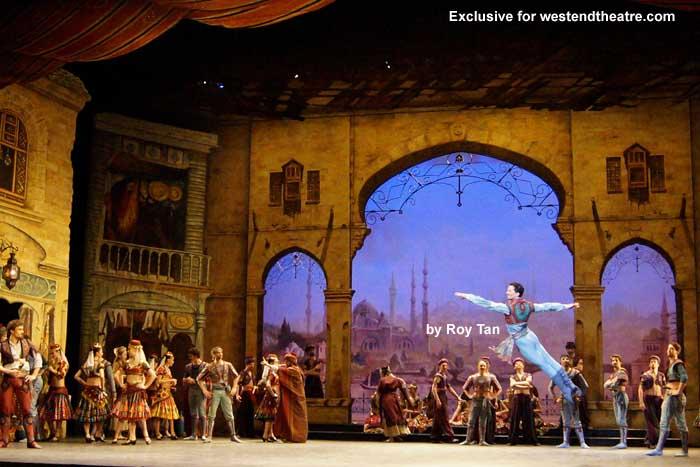 Le Corsaire at the London Coliseum