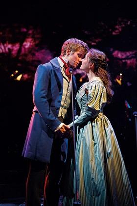 Rob-Houchen-as-Marius-and-Lily-Kerhoas-as-Cosette-Photograph-Matt-Murphy