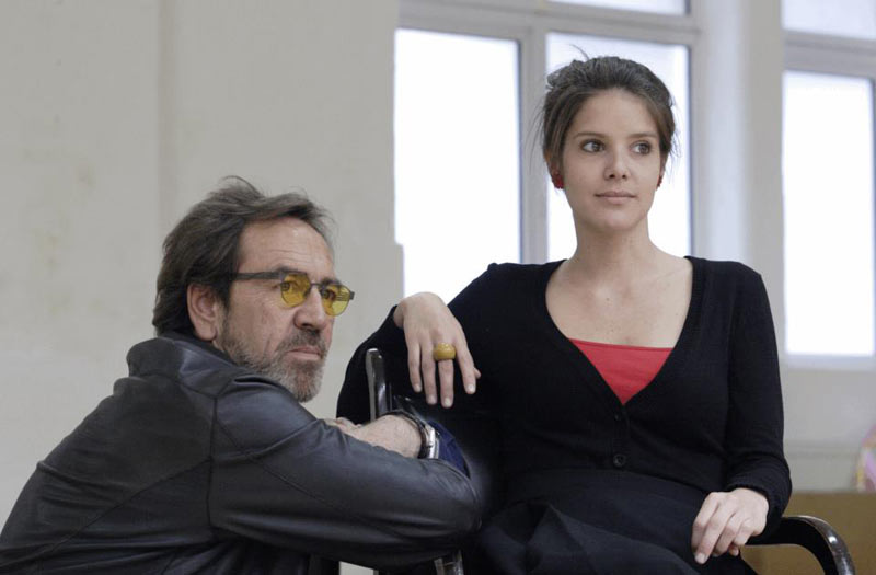 Sonya Cassidy and Robert Lindsay - The Lion In Winter rehearsals