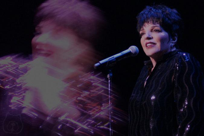 Liza Minnelli at the Royal Albert Hall
