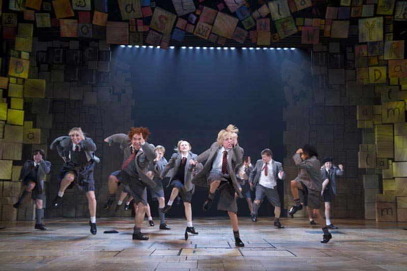 Matilda The Musical at the Cambridge Theatre