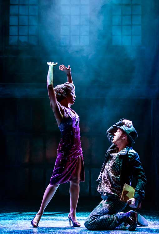 Memphis The Musical at the Shaftesbury Theatre