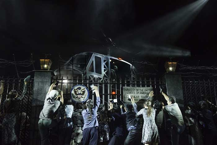 Miss Saigon at the Prince Edward Theatre