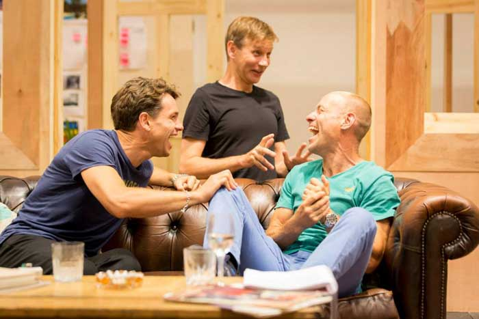 My Night with Reg at the Donmar Warehouse - Rehearsals