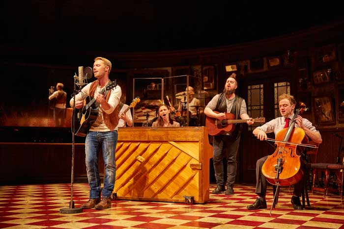 ONCE - The Musical at the Phoenix Theatre starring Ronan Keating