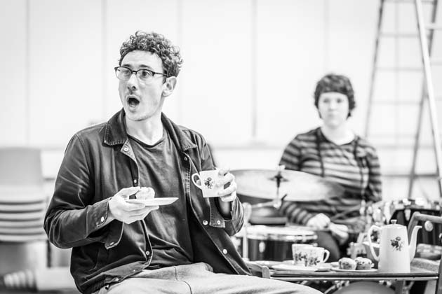 Pinter Four - inside the rehearsal space