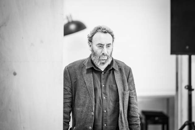 Antony Sher in rehearsals for Pinter One