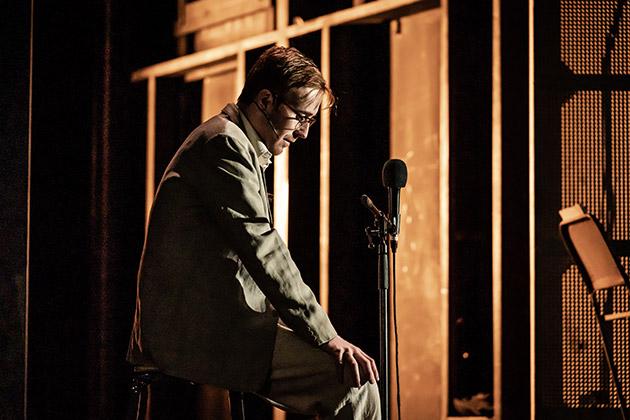 John Heffernan in Pinter Seven. © Marc Brenner