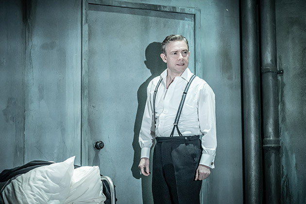 l-r. Martin Freeman  in Pinter Seven. © Marc Brenner