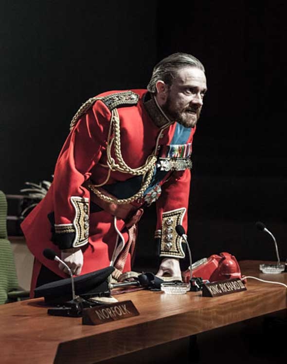 Richard III at the Trafalgar Studios starring Martin Freeman
