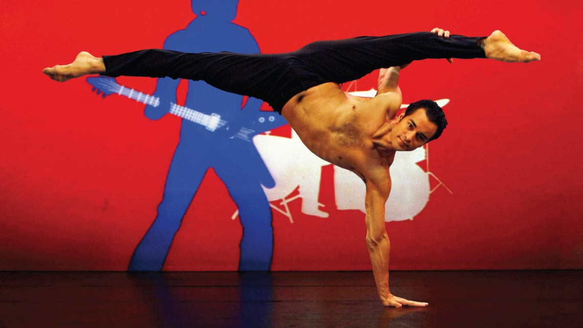 Rasta Thomas' Rock The Ballet starring the Bad Boys of Dance at the Peacock Theatre