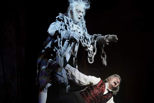 Scrooge at the London Palladium starring Tommy Steele