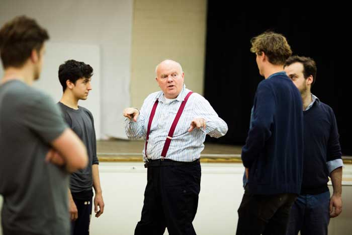 Declan Donnellan in rehearsal for Shakespeare in Love at the Noel Coward Theatre. Photo: Helen Maybanks
