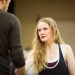 Eve Ponsonby (Viola De Lesseps) rehearsal for Shakespeare in Love at the Noel Coward Theatre. Photo: Helen Maybanks