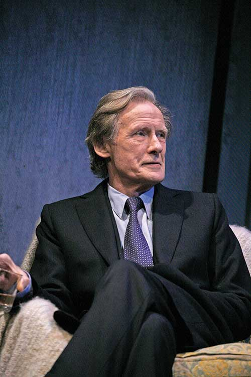 Skylight at Wyndham's Theatre - Bill Nighy (Tom Sergeant),  photo by John Haynes
