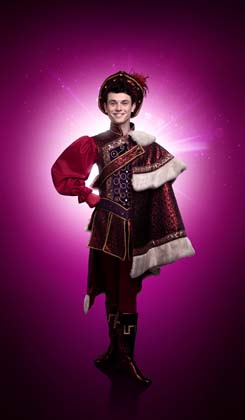 Charlie Stemp as Prince Charming - Photo credit Image 1st