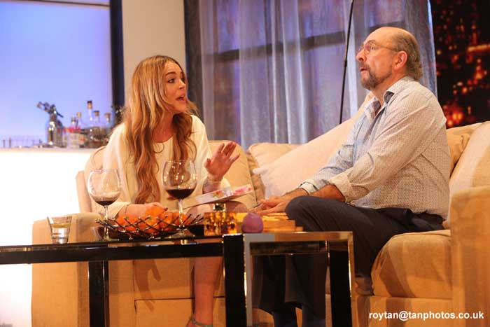 Speed-the-Plow starring Lindsay Lohan at the Playhouse Theatre. Photos: Roy Tan