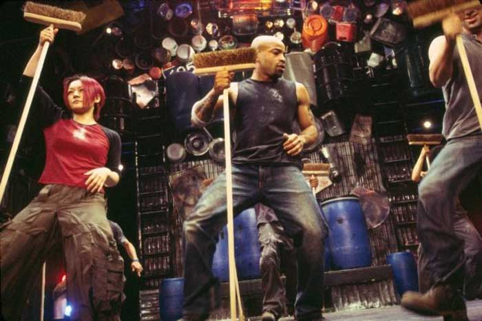STOMP! at the Ambassadors Theatre