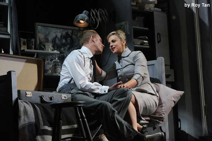 Strangers on a Train at the Gielgud Theatre