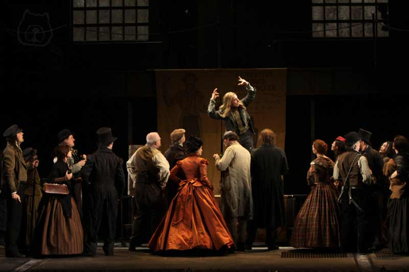 Sweeney Todd at the Théâtre du Châtelet, Paris