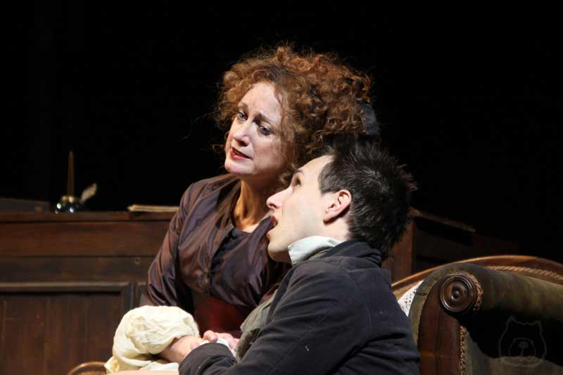 and Caroline O'Connor in Sweeney Todd at the Théâtre du Châtelet, Paris