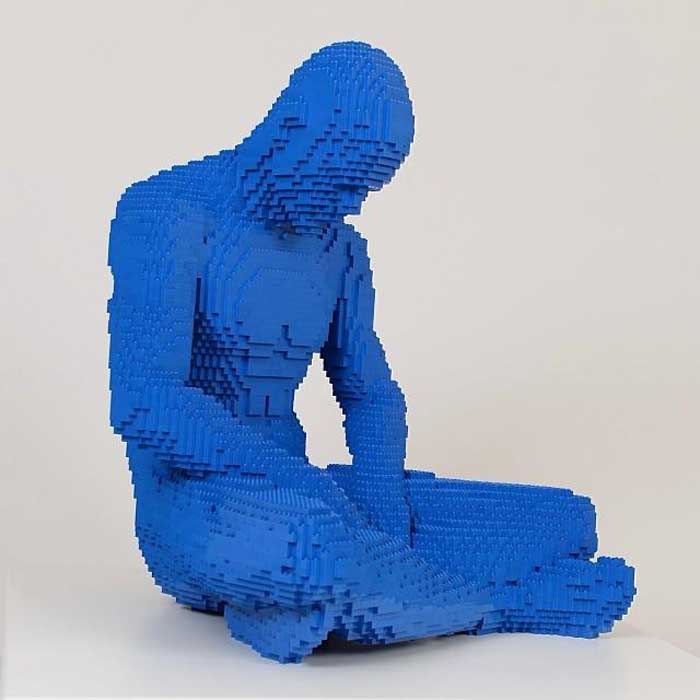 The Art of the Brick at the Old Truman Brewery in London