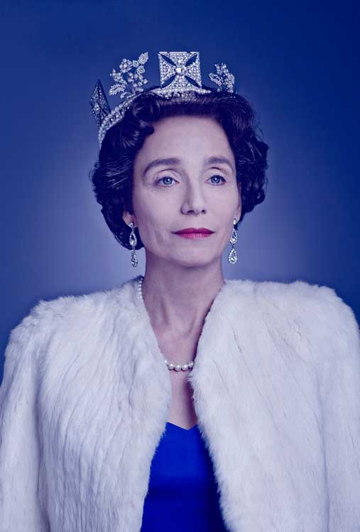 Kristin Scott Thomas as The Queen