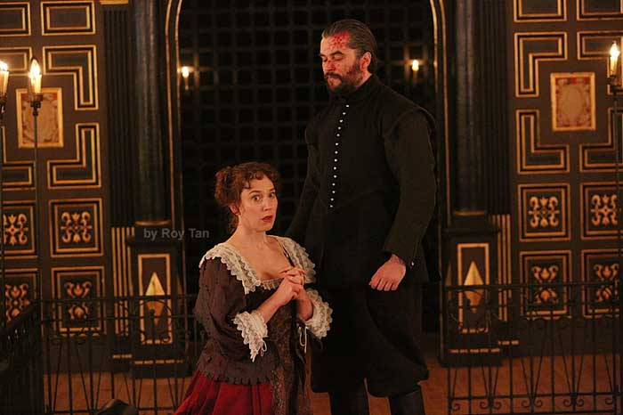 The Changeling at the Sam Wanamaker Playhouse. Photo: Roy Tan
