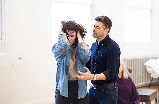 Lucy-Doyle-Drew-Cain-in-rehearsals-for-THE-CROFT.-Credit-James-Findlay