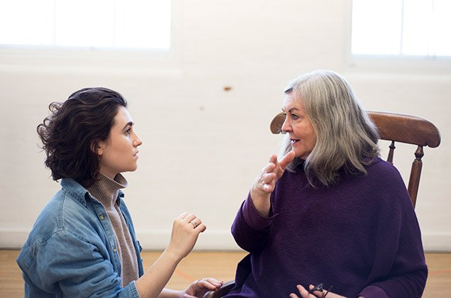 Lucy-Doyle-Gwen-Taylor-in-rehearsals-for-THE-CROFT.-Credit-James-Findlay
