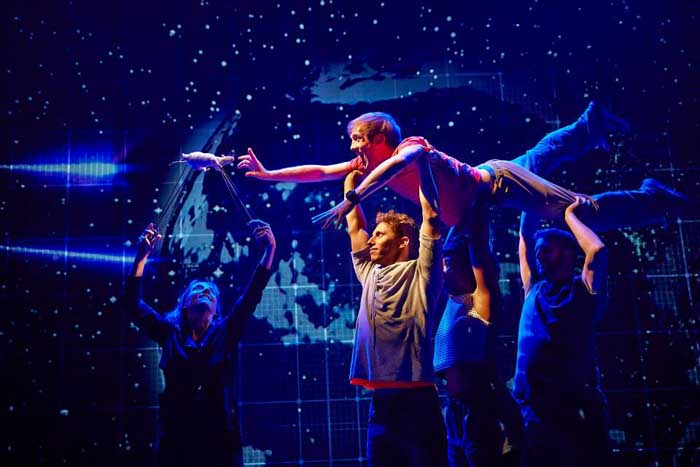 The Curious Incident of the Dog in the Night-Time 2014 cast at the Gielgud Theatre