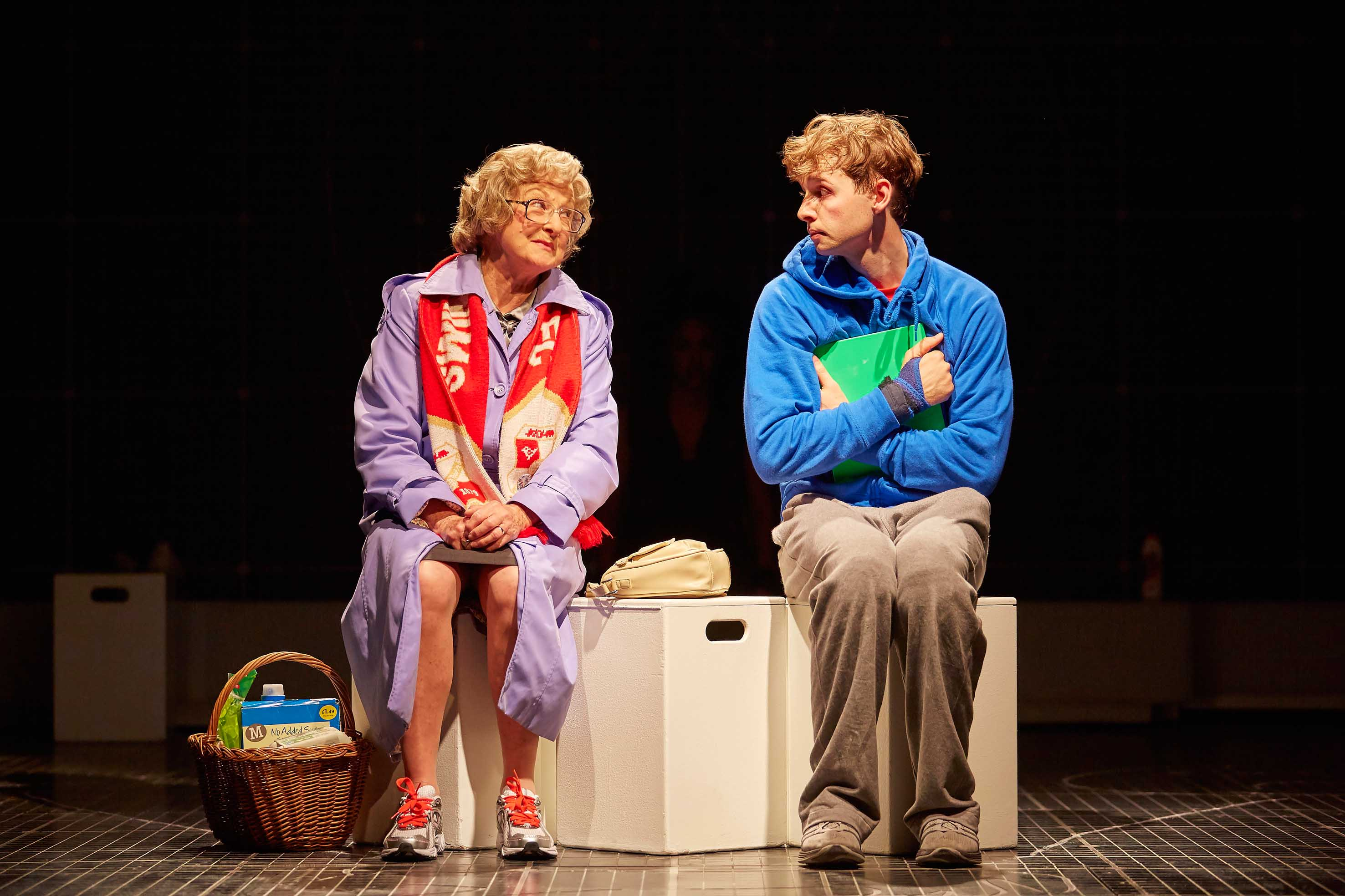 Jacqueline Clarke as Mrs-Alexander & Sion Daniel Young as Christopher