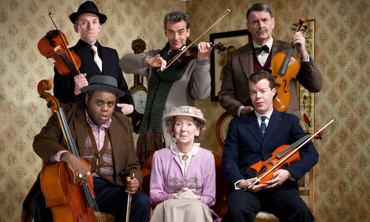 The cast of The Ladykillers