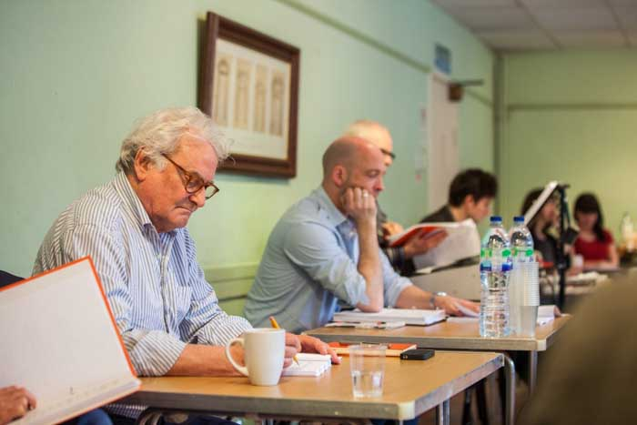 The Pajama Game at the Shaftesbury Theatre - Rehearsals