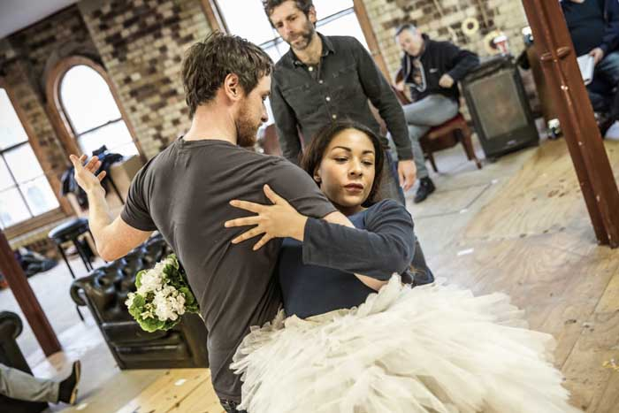 James McAvoy & Kathryn Drysdale - The Ruling Class - Rehearsal Images - Photo By Marc Brenner