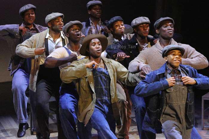 The Scottsboro Boys at the Garrick Theatre