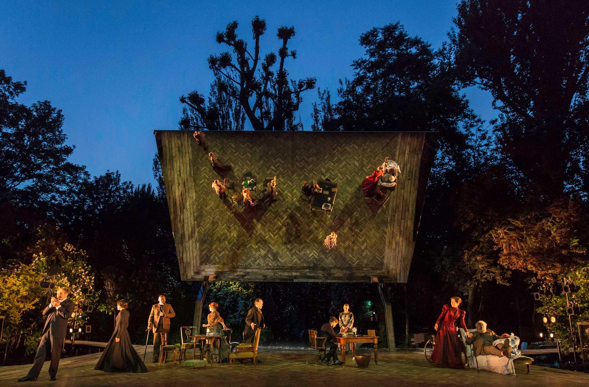 THE SEAGULL Regent's Park Open Air Theatre  2015