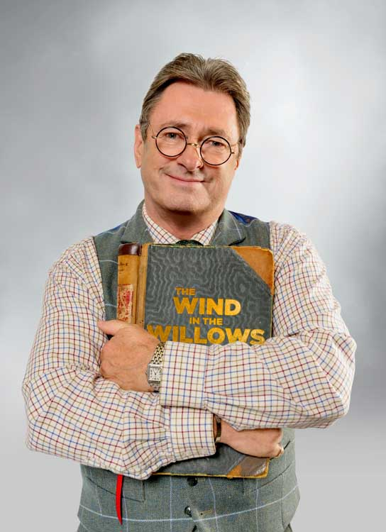 Alan Titchmarsh stars in the Royal Opera Houses production of The Wind in the Willows at the Vaudeville Theatre