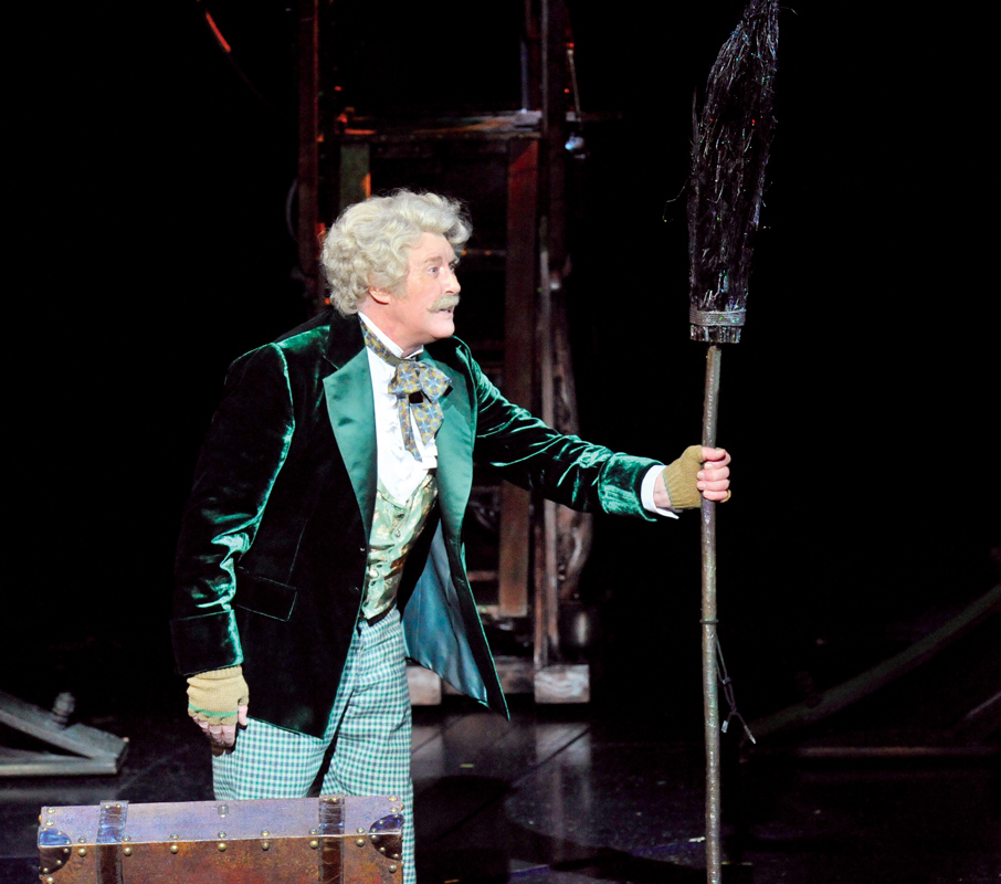Michael Crawford as The Wizard in The Wizard of Oz