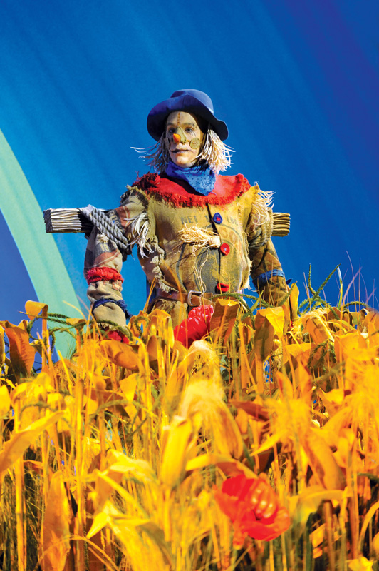 Paul Keating as The Scarecrow in The Wizard of Oz