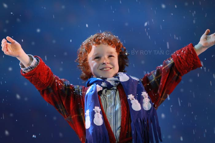 The Snowman at the Peacock Theatre