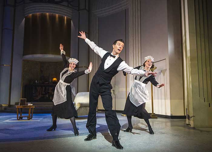 Top Hat at the Aldwych Theatre - 2013 Cast