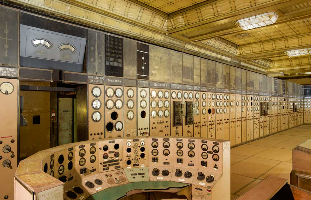 Control Room A, Battersea Power Station. Unseen London by Mark Daly, photography by Peter Dazeley. Published by Frances Lincoln, £30.