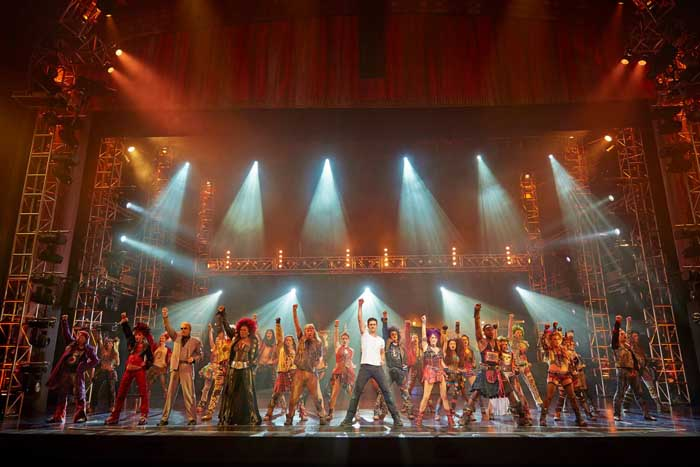 We Will Rock You at the Dominion Theatre