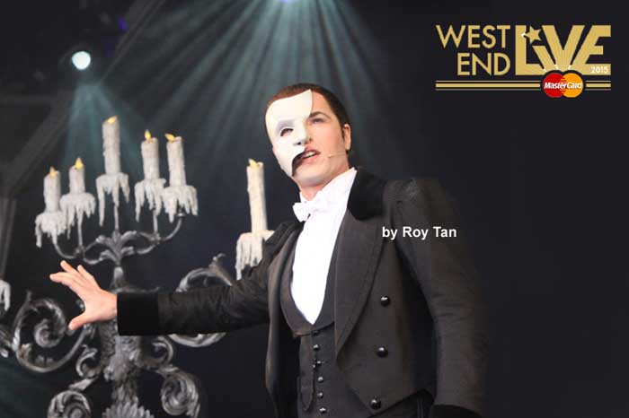West End Live 2015 line up - The Phantom of the Opera