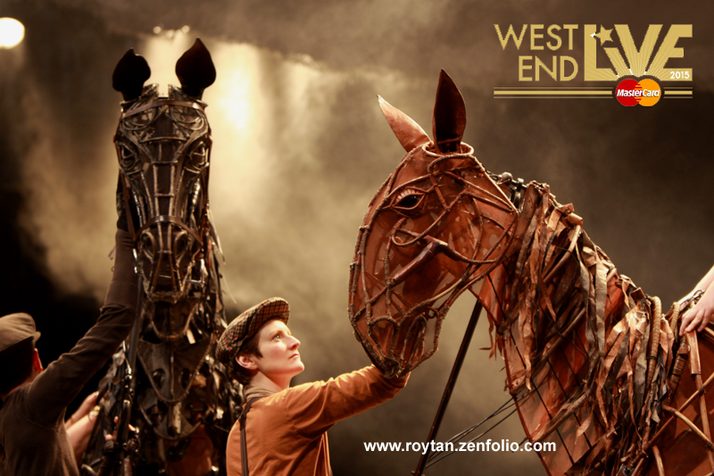 West End Live 2015 line up- War Horse